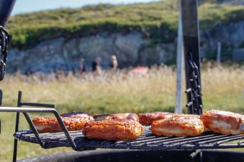 Fiskekaker fra fiskebutikken i Sandnessjøen
