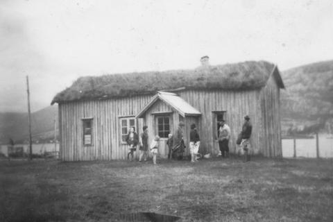 Gammelstua hos Georg Mikalsen på Vågsodden