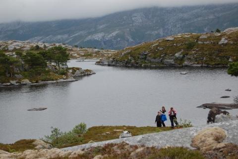 12. Fra Storvatnet, sør på Hamnfjellet. Foto: Beate Andorsen