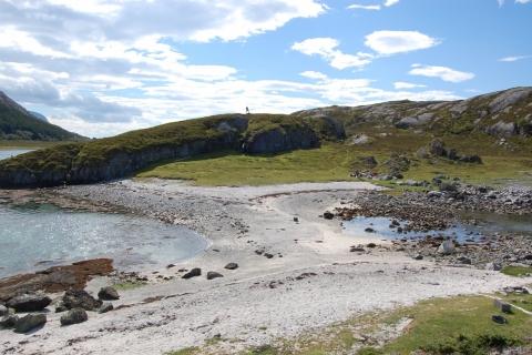 3. Bildet er tatt fra Liss-Esøya og sørover  mot Esøya. Foto: Kjell Klausen