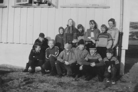 Våren 1959 på nyskolen