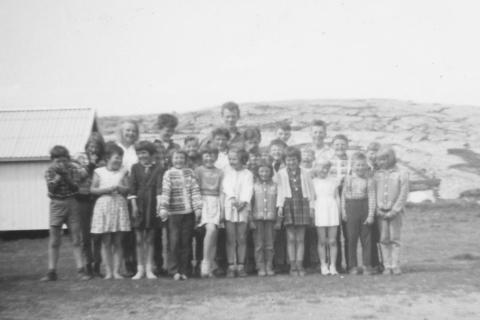 Skoleåret 1963-64 |   Lærer Ole Håvard Hansen